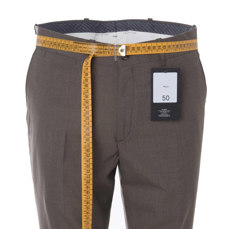 Guia De Tallas Para Pantalones De Vestir De Hombre Pantalones Blaper