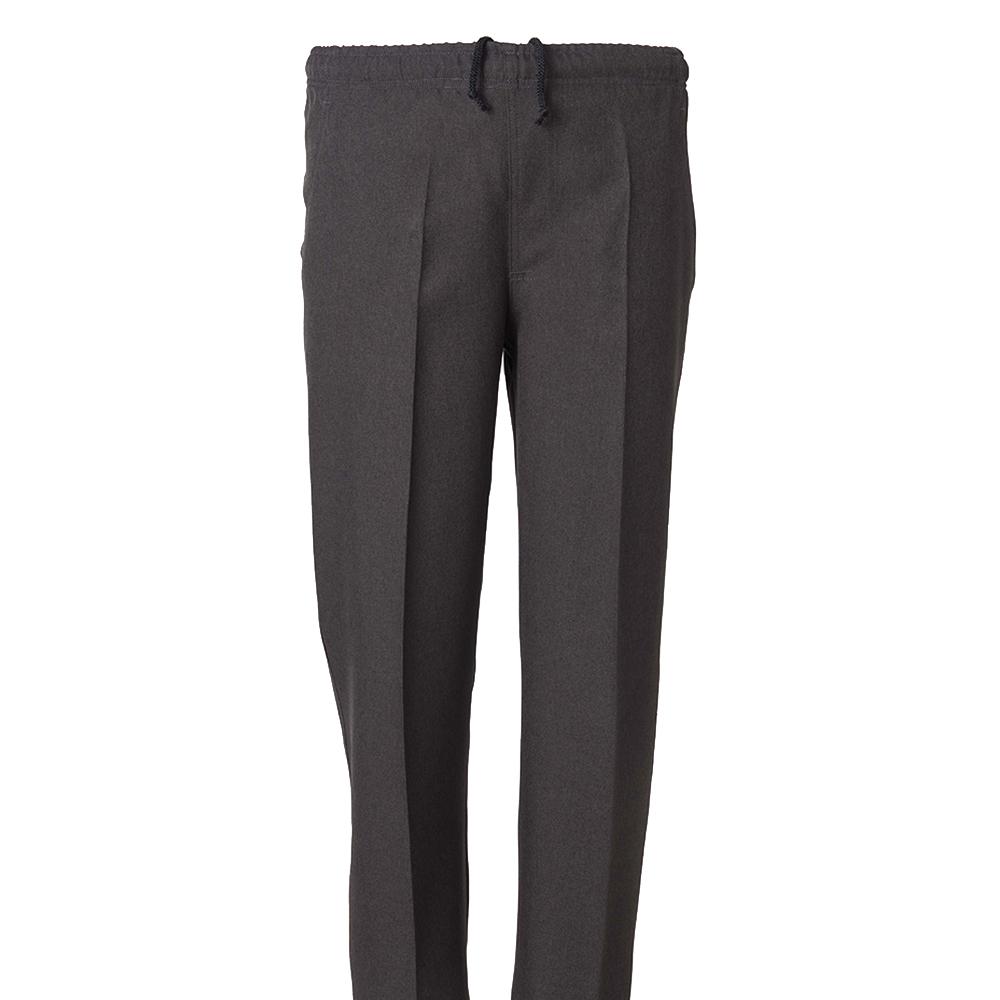Gris//Marino//Tostado Pantalon Vestir con Goma en la Cintura Tallas Grandes Verano Pantal/ón Adaptado Hombre