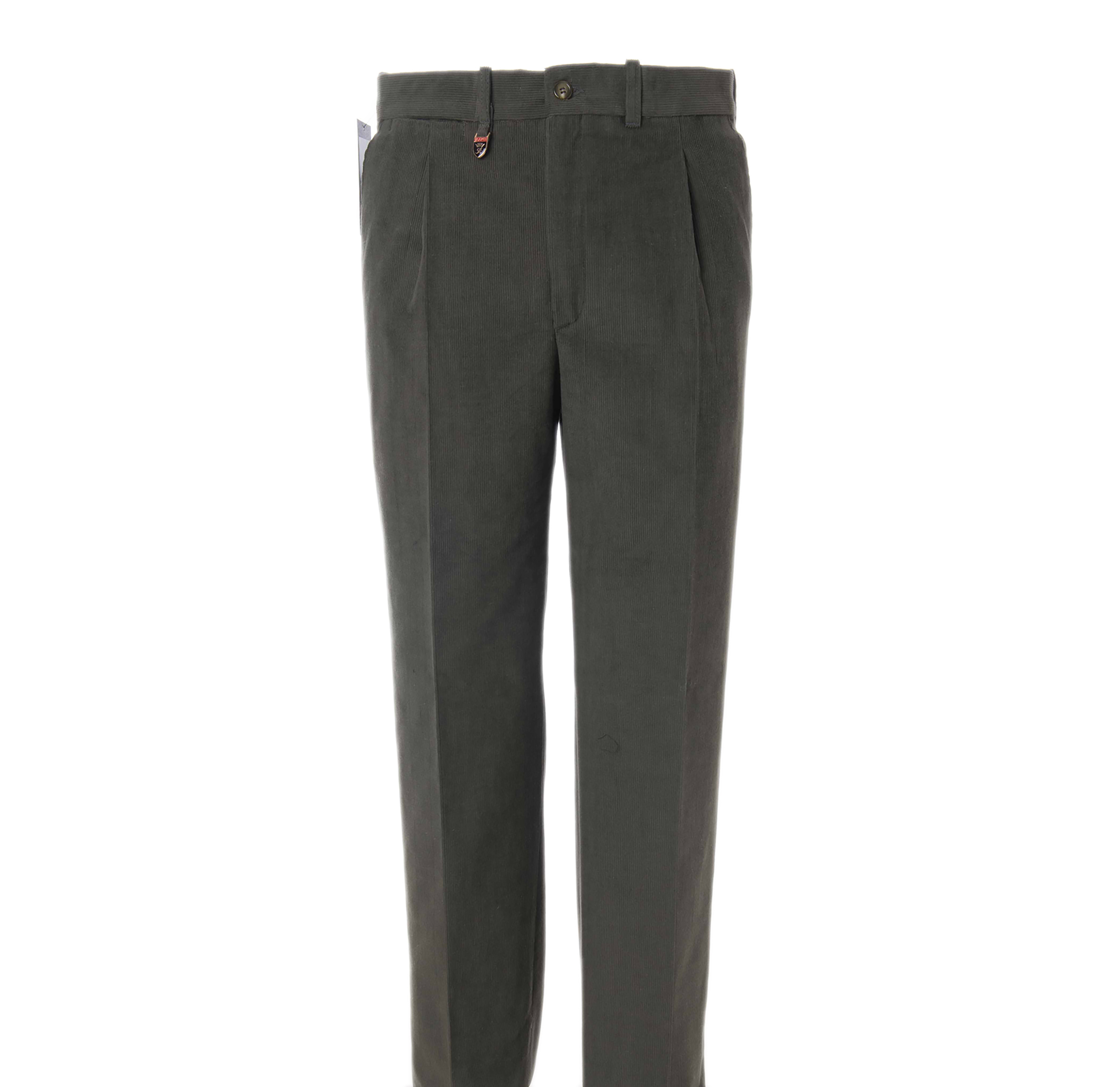 1520edab42 Pantalón de pana fina 1 Pinza para hombre - Pantalones Blaper